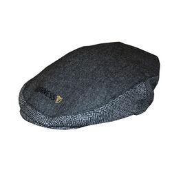 Guinness Guinness Grey Tweed Flat Cap