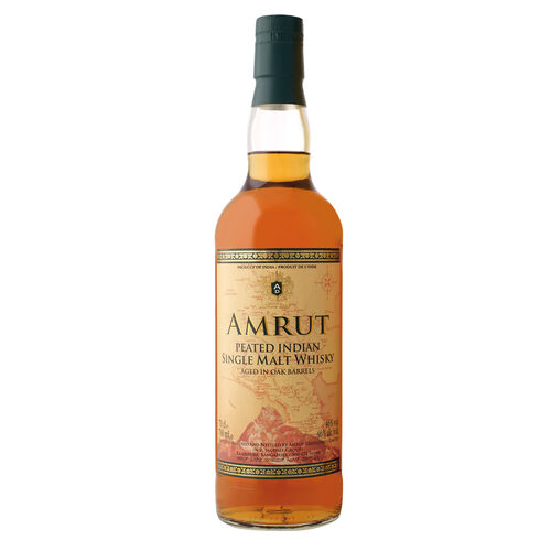 Amrut Peated 46%, 70cl - Indian Single Malt