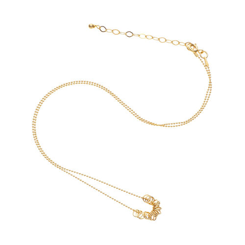 Scribble and Stone 14kt Gold Fill Infinity Rings Pendant