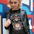 Guinness Guinness Black Butterfly Ladies T-Shirt  XS