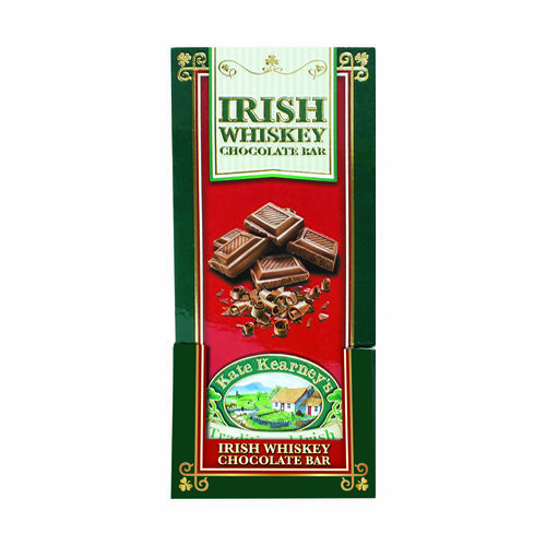 Kate Kearney Irish Whiskey Chocolate Bar 100g