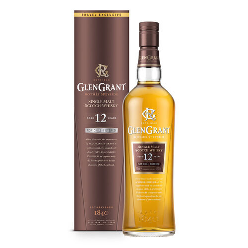 Glen Grant Glen Grant 12YO Single Malt Scotch Whisky  1L