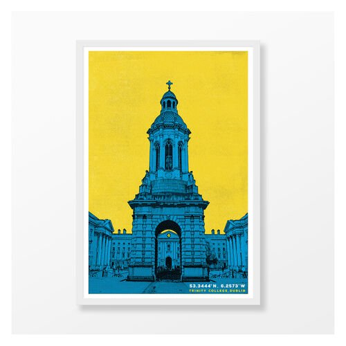 Jando  Trinity College Campanile Large Frame A3