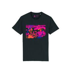 Jill & Gill Black Obsessive T Shirt S