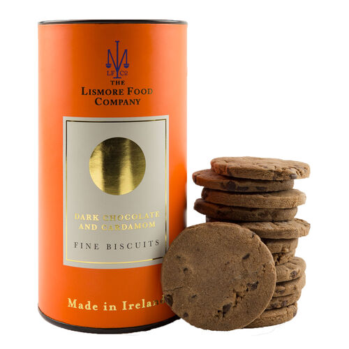 Lismore Food Company Lismore Dark Chocolate & Cardamon Biscuits 150g