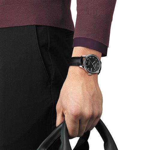 Tissot T0064071605300 Le Locle Powermatic 80 Black Dial 39.9mm