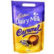 Cadbury Caramel Chunks Pouch  400g