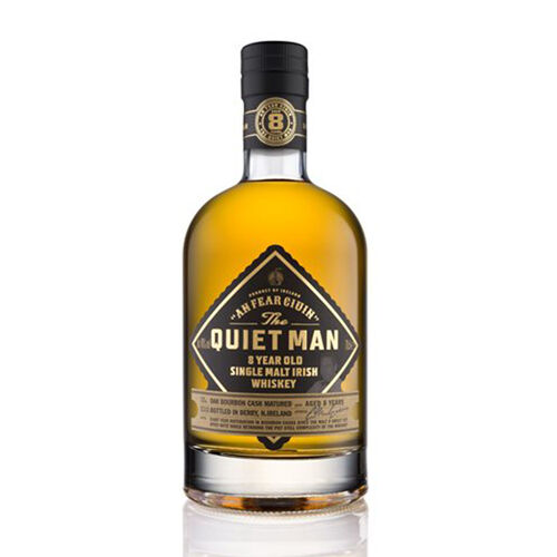 The Quiet Man 8 Year Old Single Malt Irish Whiskey  70cl