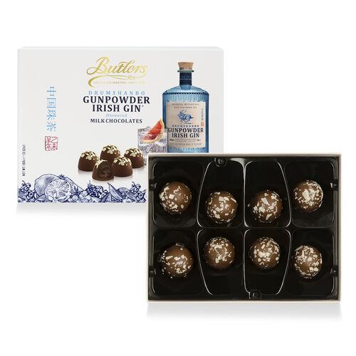 Butlers 100g Drumshanbo Gumpowder Irish Gin Chocolate Truffle Box