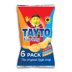 Tayto Tayto Variety 6 Pack