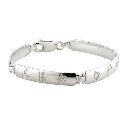 Solvar S/S History Of Ireland 4 Link Bracelet