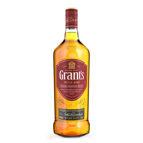 Grant's Triplewood Scotch Whisky 1L