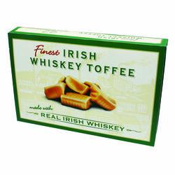 Souvenir Irish Whiskey Toffee Box 200g