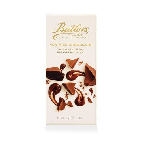 Butlers 180g 40% Milk Chocolate Bar