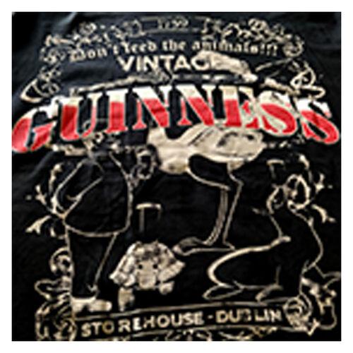 Guinness  Black Toucan Zoo Vintage T-Shirt