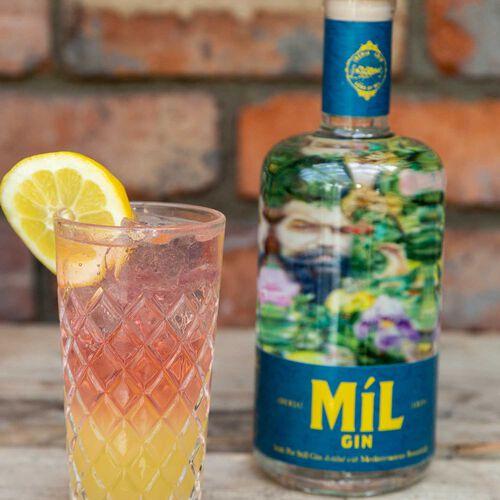 Mil Irish Mediteranean Gin 42% ABV