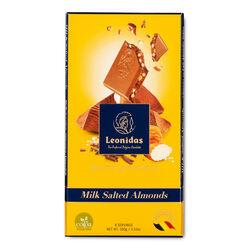 Leonidas Milk Chocolate Salted Almonds Tablet 100g