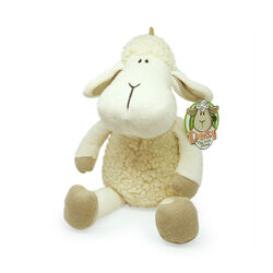 Souvenir Baby Cream 10 Inch Daisy Sheep