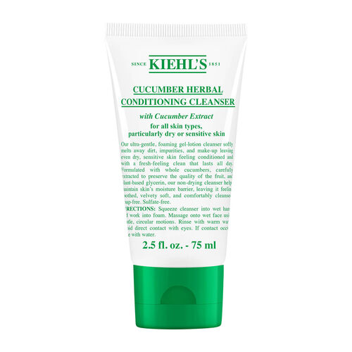 Kiehls Cucumber Herbal Conditioning Cleanser 75ml