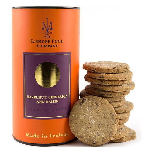 Lismore Food Company Lismore Hazelnut, Cinnamon & Raisin Biscuits 150g