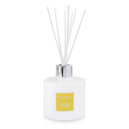 Max Benjamin Lemongrass & Ginger  Luxury Diffuser Spicy
