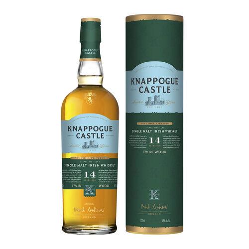 Knappogue Castle 14yr Old Twin Wood Single Malt Irish Whiskey 70cl