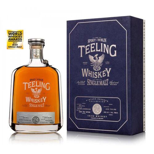 Teeling Whiskey Company 24 Year Old Single Malt Irish Whiskey 70cl
