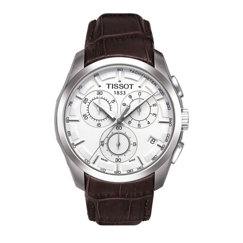 Tissot  Couturier Chronograph Silver