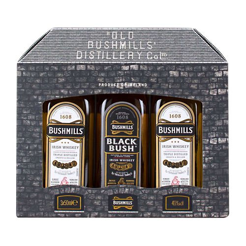 Bushmills Original Irish Whiskey Mini Pack 3x5cl