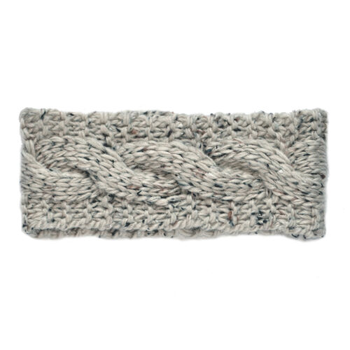 Patrick Francis Oatmeal Speckled Wool Headband