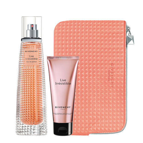 Givenchy Live Irresistible Eau de Parfum Travel Exclusive Set 75ml