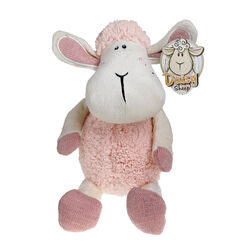 Souvenir Baby Pink 10 Inch Daisy Sheep