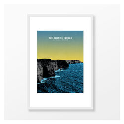 Jando  Cliffs Of Moher Large Frame A3