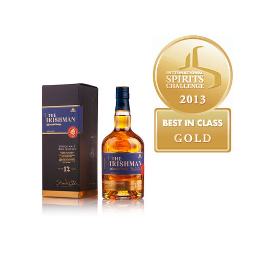 The Irishman 12-Year-Old Single Malt Irish Whiskey 70cl