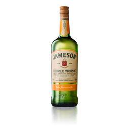 Jameson Triple Triple Irish Whiskey 1L Travel Exclusive