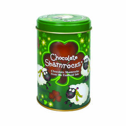 Kate Kearney Chocolate Shamrocks in a Tin 130g