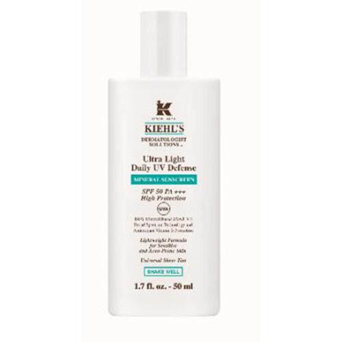 Kiehls Ultra Light Daily Uv Defense Mineral Sunscreen SPF50 PA++ 50ml