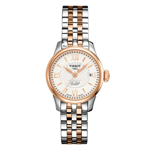 Tissot T41218333 Le Locle Automatic Small Lady Silver 25.3mm