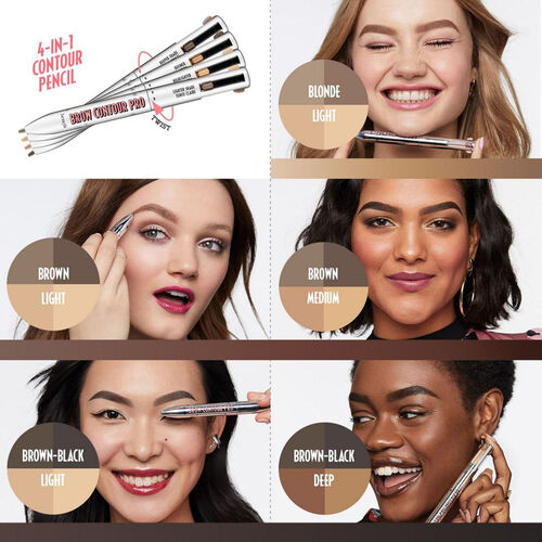 Benefit Brow Contour Pro 4-in-1 Defining & Highlighting