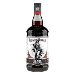 Captain Morgan Black Spiced Rum  1ltr 1L