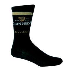 """Guinness Guinness """"By Night"""" Black Socks"""