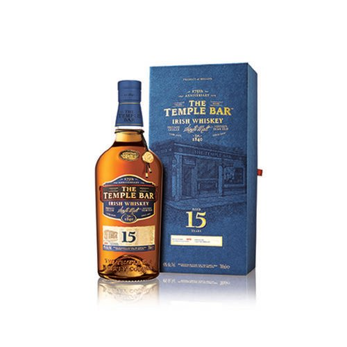 The Temple Bar 15 Year Old Gift Box Irish Whiskey 70cl