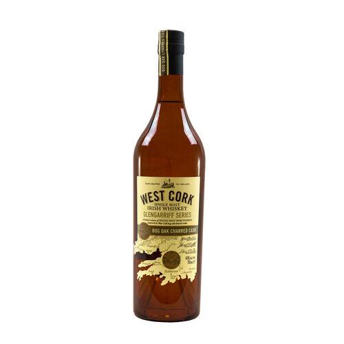 West Cork Glengarriff BogOak Single Malt Irish Whiskey  70cl