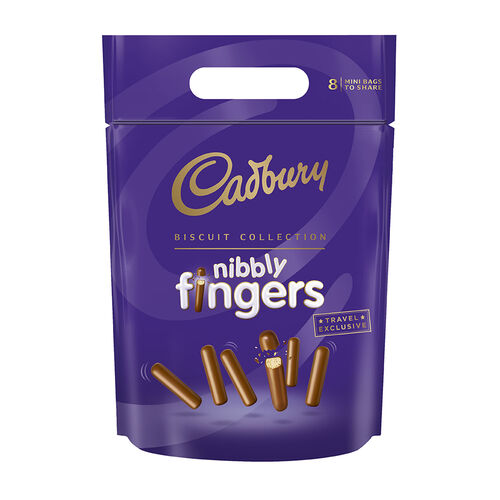 Cadbury Cadbury Biscuits Nibbly Fingers Pouch  320g