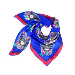 Debbie Millington Ram in Blue Small Neckerchief