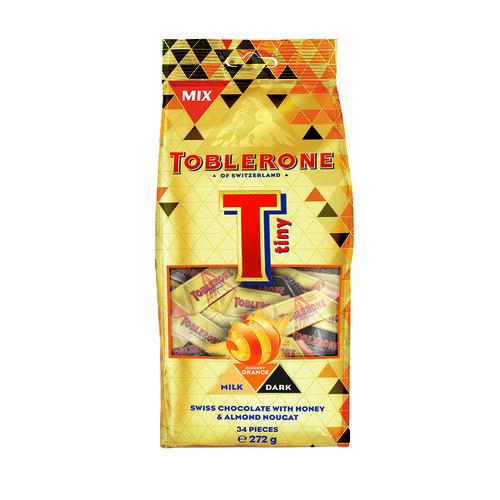 Toblerone Tiny Gingery Orange Mix Bag  272g