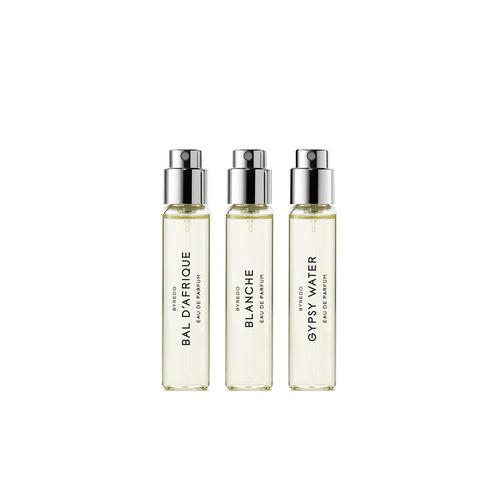 Byredo La Selection Nomade (Bal d'Afrique/Blanche/Gypsy) 3 x 12ml 3x12ml Eau de Parfum