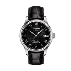 Tissot T0064071605300 Le Locle Powermatic 80 Black Dial 39.9mm
