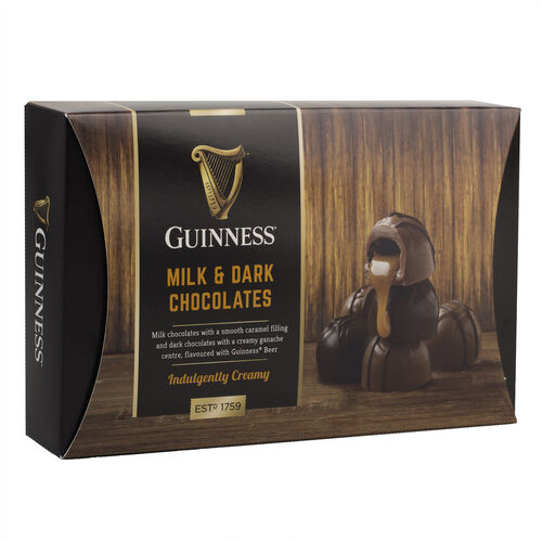 Guinness Chocolate Domes Indulgently Creamy 90g