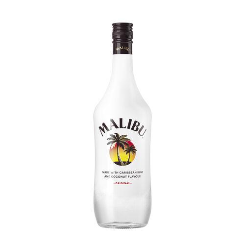 Malibu Original Caribbean Rum  1ltr Original 1L Bottle